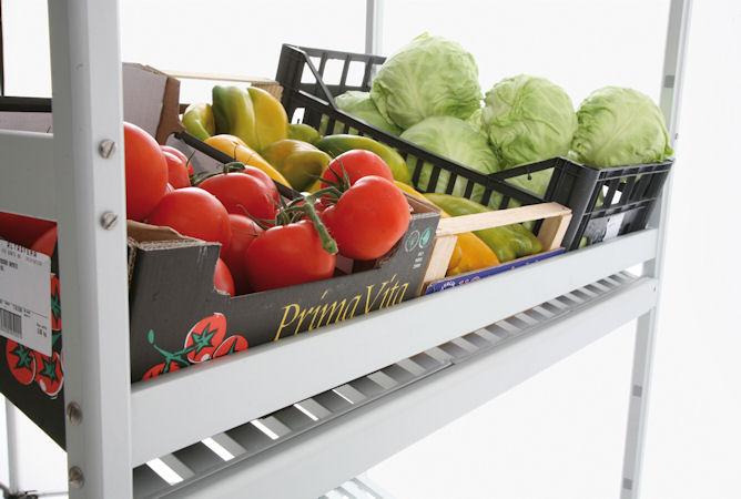 fresh food shelving