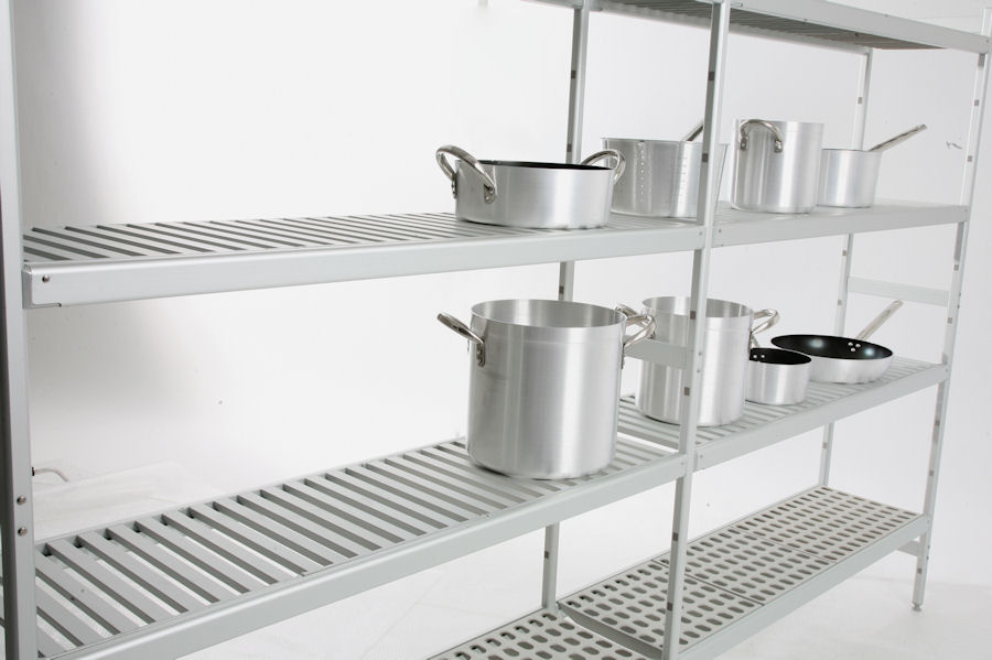shelving for pots and pans